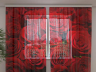 Sifonki-kuvaverho ROSES 2, 240x220 cm ED-100008