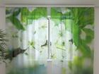Sifonki-kuvaverho SPRING FLOWERS 240x220 cm ED-100014