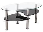 Sohvapöytä TOLEDO 90x55 cm AQ-100033
