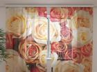 Sifonki-kuvaverho CANDY ROSES 240x220 cm