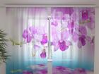 Šifoon-fotokardin Orchid vivian 240x220 cm