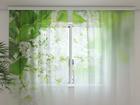 Sifonki-kuvaverho WHITE LILAC 240x220 cm