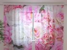 Sifonki-kuvaverho TENDER ROSES 240x220 cm ED-100161