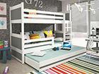 Lasten sänkyryhmä 3-le, 80x190 cm