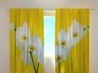 Полузатемняющая штора White orchids 240x220 cm ED-100460