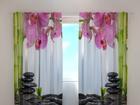 Pimendav kardin Orchids and bamboo 240x220 cm ED-100470