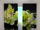 Puolipimentävä verho CITREOUS ORCHIDS 240x220 cm ED-100491