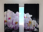 Läbipaistev kardin Orchids on stones 240x220 cm ED-100501
