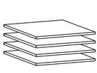 Lisariiulite komplekt 100 cm kapile, 4 tk