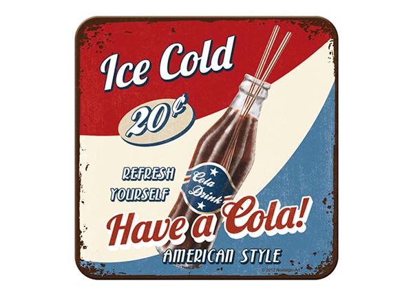Подставка под стакан в ретро-стиле Have a Cola! 4 шт