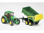 JOHN DEERE 6920 traktori+peräkärry 1:16 BRUDER