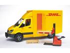 MB SPRINTER DHL pakettiauto+trukki 1:16 BRUDER KL-107101