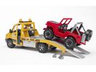 MB Sprinter puksiirauto+maastur 1:16 Bruder KL-107104