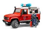 Land Rover tuletõrje heli ja valgusega 1:16 Bruder KL-107114