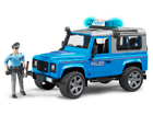 Land Rover Defender politsei heli ja valgusega 1:16 Bruder KL-107115