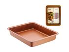 Ahjupann Copper 30x39 cm