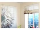 Poolläbipaistev roomakardin Amazing Dandelion 120x140 cm