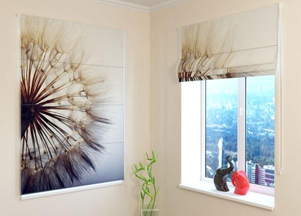 Pimentävä laskosverho AMAZING DANDELION 100x120 cm