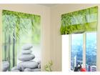 Poolläbipaistev roomakardin Bamboo and Stones 2 60x60 cm