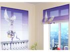 Poolläbipaistev roomakardin Beautiful Dove 60x60 cm