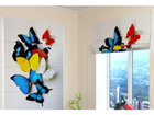 Pimendav roomakardin Colorful Butterflies 120x140 cm