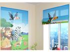 Poolläbipaistev roomakardin Cute African animals 1 60x60 cm