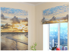 Pimendav roomakardin Faraway Ocean 120x140 cm