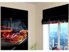 Pimendav roomakardin Fiery Supercar 100x120 cm