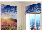Pimendav roomakardin Flowers and mountains 2 100x120 cm
