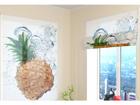 Poolläbipaistev roomakardin Fresh Pineapple 60x60 cm
