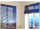 Poolläbipaistev roomakardin Fuji 2 60x60 cm