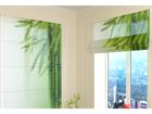 Poolläbipaistev roomakardin Green Bamboo 2 120x140 cm