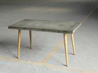 Ruokapöytä CEMENT 140x70 cm