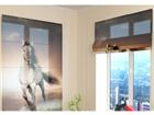 Poolläbipaistev roomakardin Horse 60x60 cm
