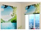 Pimendav roomakardin Lake 3 60x60 cm