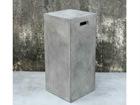Lillepostament Cement 33x33xh74 cm