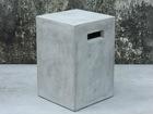 Lillepostament Cement 25x25xh38 cm AY-108962