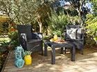 Комплект садовой мебели Keter Rosario, graphite TE-109087