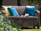 2-местный садовый диван Keter Corfu, коричневый HU-109152