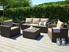 Комплект садовой мебели Keter California, cappuccino