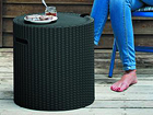 Пуф / столик Keter Cool Stool, anthracite