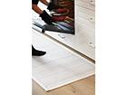 NARMA newWeave® chenillematto ESNA WHITE 80x250 cm