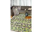 Narma newWeave® šenillvaip Luke green 140x200 cm