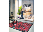 NARMA newWeave® chenillematto TELISE RED 160x230 cm