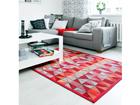 NARMA newWeave® chenillematto TRESKI RED 140x200 cm