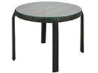 Apupöytä WICKER Ø 52 cm