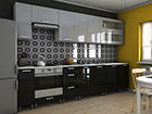 Köögimööbel Bioko-Reling 300 cm TF-110978