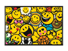 Matto SMILEY ALLOVER 40x60 cm A5-111645