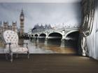 Fleece kuvatapetti LONDON 360x270 cm