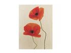 Seinapilt puidul Charming Poppies 60x80 cm